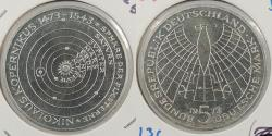 World Coins - GERMANY: 1973-J Proof 5 Mark