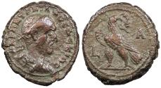 Ancient Coins - Egypt Alexandria Trajan Decius 249-251 A.D. Tetradrachm Alexandria Mint VF