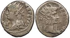 Ancient Coins - Egypt Alexandria Nero 54-68 A.D. Tetradrachm Alexandria Mint Near VF