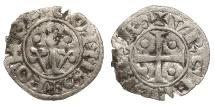 World Coins - SPAIN Catalonia (Catalunya) County of Urgell  Ponce de la Cabrera 1236-1243 Diner?  Near VF