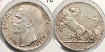 World Coins - ITALY: 1927-R 10 Lire