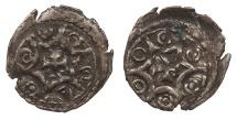 World Coins - DENMARK Erik IV (Erik Plovpenning or 'Plowpenny') 1241-1250 Penning (Penny) Good VF