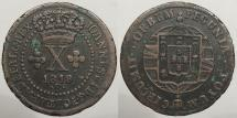 World Coins - BRAZIL: 1818-R Mintage 496,000 10 Reis