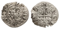 World Coins - SPAIN Catalonia (Catalunya) County of Urgell Ponce de la Cabrera 1236-1243 Diner? Near VF