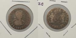 World Coins - MEXICO: 1809-Mo TH Ferdinand VII 1/2 Real