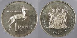 World Coins - SOUTH AFRICA: 1970 Rand Proof