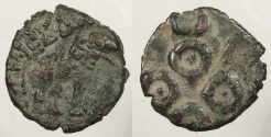 World Coins - INDIA: Deccan Satavahanas Circa 100BC-100AD