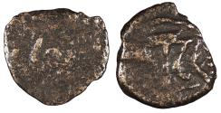 Ancient Coins - Judaea Herodian Dynasty Herod I (the Great) 40-4 B.C.E. Double Prutah Fine
