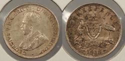 World Coins - AUSTRALIA: 1918-M George V 3 Pence