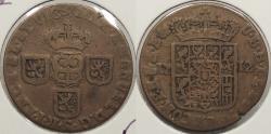 World Coins - SPANISH NETHERLANDS: Namur 1712 Philip V Liard