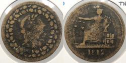 World Coins - CANADA: 1812 Thomas Halliday. Halfpenny