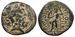 Ancient Coins - Syria Seleucis and Pieria Antioch Pseudo-autonomous Coinage Pompeian Era (64/63-47 B.C.) Large Denomination Antioch Mint Good Fine
