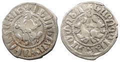 World Coins - ARMENIA Levon I, as King 1198-1219 Half Tram VF