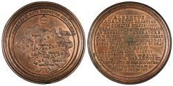 World Coins - GERMAN STATES Lothringen (Lorraine) Nancy Ferdinand De Saint-Urbain, Médailler of the Dukes of Lorraine. ND (1727-1734) AE 46mm Medal AU