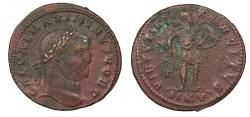 Ancient Coins - Maximinus II 309-313 A.D. Follis Cyzicus Mint VF