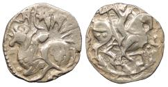 Ancient Coins - Kingdom of Kabul in Afghanistan Kabul and Ohinda Spalapati Deva c. 750-850 A.D. Jital EF