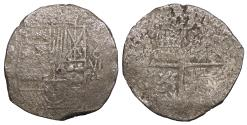 World Coins - BOLIVIA Felipe (Philip) III ND (1598-1621) 8 Reales