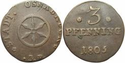 World Coins - GERMAN STATES: Osnabruck 1805 3 Pfennig