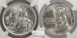Us Coins - 1925 Stone Mountain 50 Cents (Half Dollar) NGC MS-64