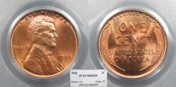Us Coins - 1928 Lincoln 1 Cent PCGS MS-65 RD