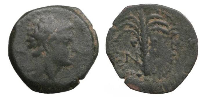 Ancient Coins - Seleukid Kings Antiochus V 164-162 B.C. Dilepton VF