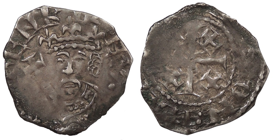 World Coins - ENGLAND Henry II 1154-1189 Tealby Penny VF