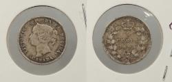 World Coins - CANADA: 1893 5 Cents