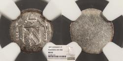 World Coins - GERMAN STATES Nurnberg (Nuremburg) Free Imperial city 1807 Pfennig NGC MS-64