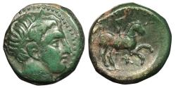Ancient Coins - Kings of Macedon Philip II 359-336 B.C. AE Unit VF