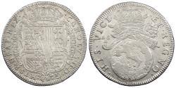 World Coins - ITALIAN STATES Naples Carlo (Charles) II 1685 Tari AU