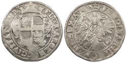 World Coins - GERMAN STATES Emden Ferdinand III ND (1624-1637) 2/3 Thaler (Gulden) (28 Stuber) EF