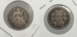 Us Coins - 1854 Seated Liberty 5 Cent (Silver)
