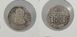 World Coins - MEXICO: 1807-Mo TH Charles IV 1/2 Real