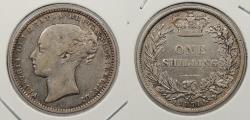 World Coins - GREAT BRITAIN: 1871 Victoria. Shilling