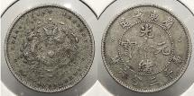 World Coins - CHINA: Kwangtung ND (1890-1908) 5 Cents