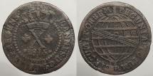World Coins - BRAZIL: 1815-B E. BRAS. Variety 10 Reis