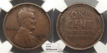 Us Coins - 1914 D Lincoln 1 Cent NGC VF-25
