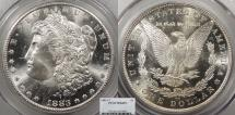 Us Coins - 1883 CC Morgan 1 Dollar (Silver) PCGS MS-66 PL