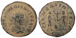 Ancient Coins - Numerian 283-284 A.D. Antoninianus Cyzicus Mint Good Fine