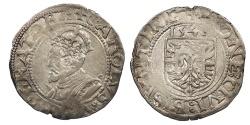 World Coins - FRANCE Besançon Charles V, as Holy Roman Emperor 1530-1556 Blanc 1541 EF