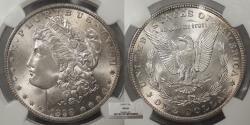 Us Coins - 1898 O Morgan 1 Dollar (Silver) NGC MS-66