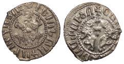 World Coins - ARMENIA Levon I, as King 1198-1219 Half Tram Choice EF
