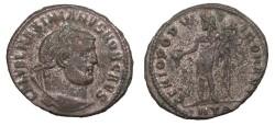 Ancient Coins - Galerius, as Caesar 293-305 A.D. Follis Heraclea Mint Good VF