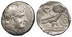 Ancient Coins - Graeco-Bactrian Uncertain Eastern Satrapy c. 323-240 B.C. Tetradrachm EF