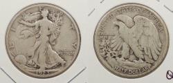 Us Coins - 1923 S Walking Liberty 50 Cents (Half Dollar)