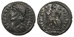 Ancient Coins - Procopius 365-366 A.D. AE3 Heraclea Mint VF