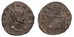 Ancient Coins - Claudius II Gothicus 268-270 A.D. Antoninianus Mediolanum Mint VF