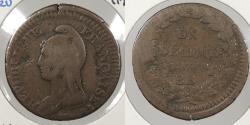 World Coins - FRANCE: L'an 7-BB (1798-99) Decime