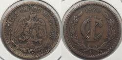 World Coins - MEXICO: 1920-Mo Centavo