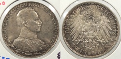 World Coins - GERMAN STATES: Prussia 1913 2 Marks
